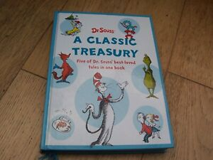 Dr Seuss A Classic Treasury Annual. Five Best Loved Tales.