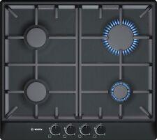 New Bosch Serie 6 PCP616B90E 4 Burner 58cm Black Gas Hob Classixx