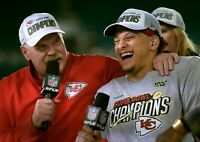 100% New Era Kansas City Chiefs Super Bowl LIV Champions Locker Room 9Forty Hat