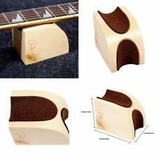 Guitar Neck Rest Cradle Cube Musical String Instrument Support Pillow Wood Tools