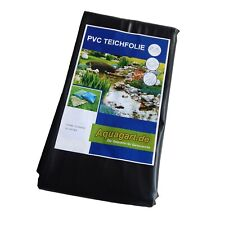 Teichfolie PVC Teichvlies Ufermatte Böschungsmatte EPDM Folie Teichflies Folie