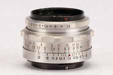 Carl Zeiss Jena Tessar 50mm 50 mm 1:2.8 2.8 2.8/50 T Altix