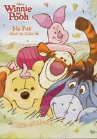 Brand New Winnie the Pooh Big Fun Book to Color Free Fast Shipping Kids Coloring