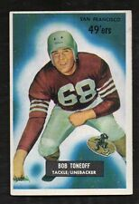 1955 Bowman Bob Toneoff #143 Rookie EX With Notching