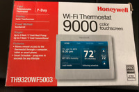 NEW HONEYWELL 9000 TH9320WF5003 Wi-Fi Color Touch Screen Programmable Thermostat