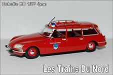 Citroën ID 21 break 1968 Pompiers éch HO 1/87 éme BREKINA SAI 2882
