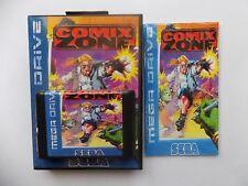 Comix Zone Sega Genesis Mega Drive. Sega Genesis Mega Drive.