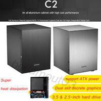 Jonsbo C2 Computer Components  Case Desktop PC Chassis for Mini ITX microATX