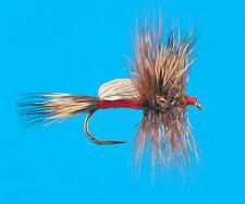 Red Humpy, 6 pcs. size 10