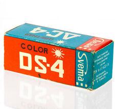 SVEMA FILM DS-4 Color Negative 120 Moskva-2,4,5 Kiev Lubitel camera USSR