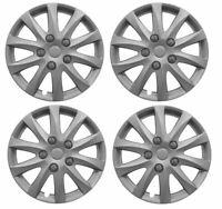"4x Wheel Trims Hub Caps 15"" Covers fits Dacia Sandero"