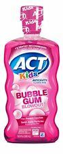 ACT Kids Anti-Cavity Fluoride Rinse Bubblegum Blowout  Children's Mouthwash with