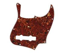 Vintage Tortoise 5 String Jazz Bass Pickguard for USA Mexican Fender J Bass