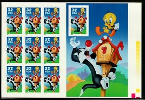 Scott 3204 32¢ Sylvester and Tweety from Press She MNH Free shipping in the USA