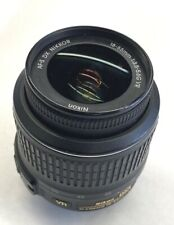 Nikon Nikkor AF-S 18-55mm f3.5-5.6 G VR DX Lens AFS Tested Pre-Owned