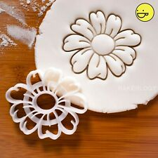 Daisy Flower cookie cutter | flowers Bellis perennis Asteraceae garden biscuit