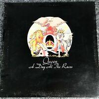 LP VINYL ALBUM RECORD QUEEN A Day At The Races EMI UK 1ST PRESS EMTC 104 VG/EX