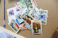 21 Middle East mixed used postage stamps philately kiloware postal