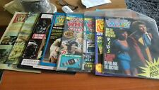 DR WHO-LOT OF 8 VINTAGE MAGAZINES-SOME SPECIAL EDITIONS
