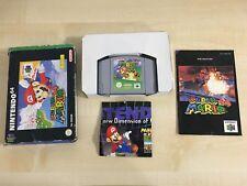 Super Mario 64 Nintendo 64 N6 Spiel OVP GUTER Zustand 2