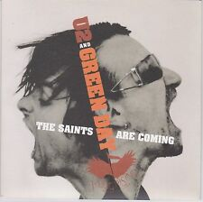 U2 and Green Day - The Saints Are Coming - Scarce 2006 UK Ltd Numbered 2trk 7""