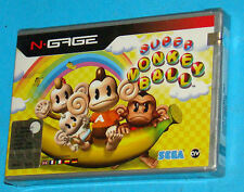Super Monkey Ball - Nokia N-Gage NGage - PAL New Nuovo Sealed