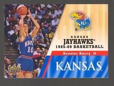 2013 Upper Deck Kansas #39 Scooter Barry Mint Jayhawks KU Basketball Rock Chalk