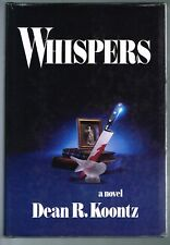 Whispers by Dean R. Koontz (1980, Hardcover 1st Edition Inscribed by Author)