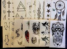 15 X Temporary Tattoo Fake Body Art Party Bags Loot Favours Birthday Wholesale