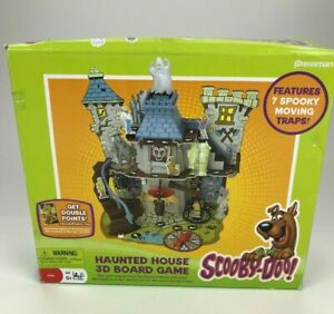 Scooby Doo Haunted House 3D Board Game Replacement Parts Pieces Tokens Traps