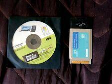 Linksys Wireless-G Notebook Adapter 2.4GHz 802.11g (PCMCIA Card)