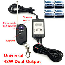 New listing 48W Dual-Output Led Flash Strobe Controller Flasher Wireless Remote Control KiTs