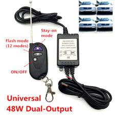 48W Dual-Output LED Flash Strobe Controller Flasher Wireless Remote Control KiFO