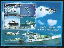 India 2008 Indian Coast Guard Ship Phila-2381 M/s MNH