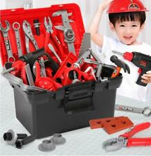 DIY Kids Building Repair Toolbox Cosplay Tools Drill Screwdriver Repair Play Set