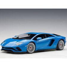 Autoart Lamborghini Aventador S 1:18 Model Car Blu Nila / Pearl Blue 79134