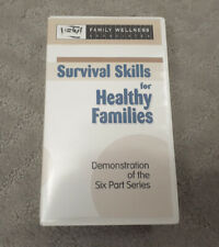 Survival Skill for Healthy Families Family Wellness Association VHS