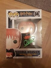 oliver phelps george weasley signed funko pop harry potter