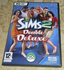 THE SIMS 2 DOUBLE DELUXE GIOCO PER PC DVD-ROM ITALIANO