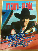 Talking Heads Cover,Eurythmics,Billy Idol Tribute,Frankie goes to,1986 Greek Mag
