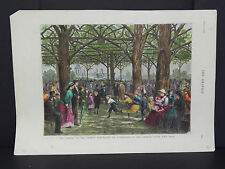 The Graphic #02/ An afternoon in the Central Park/ March 1877
