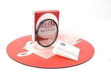 Leitz Wetzlar P-Cir Series * 13372 Circular Polarizing Filter Case ,Box #M54