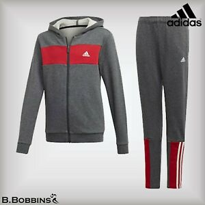 🔥 Adidas® Boys Cotton Hoodie Tracksuit Age 5-6-7-8-9-10-12-13-14-15-16 Years