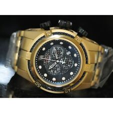 Invicta Mens Rare Jason Taylor Swiss Reserve Chrono Black Dial Steel Watch 12956
