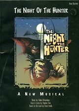 The Night Of The Hunter Songbook sheet music Stephen Cole Claibe Richardson