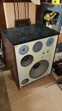 "Monster Jensen Labs 5 WAY SPEAKERS 1974 Vintage  MODEL 15"" woofer Receiver SX880"