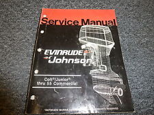 1986 Evinrude Colt Junior 2 4 6 8 9.9 15 20 HP Motor Shop Service Repair Manual