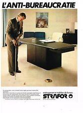 PUBLICITE ADVERTISING  054  1979  STRAFOR   mobilier bureau 5