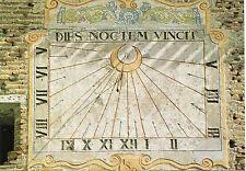 MOISSAC - Carte postale couleurs neuve - CADRAN SOLAIRE église St-Pierre + 82