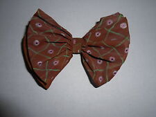 Vintage Hand Made Paper Bow Tie Pin